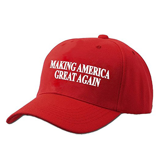 Бейсболка со слоганом «Make America Great Again»
